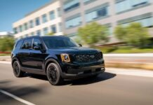 2021 KIA Telluride blacked out edition
