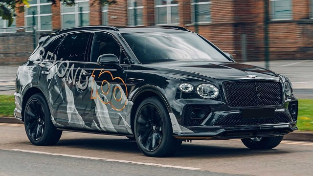 2021 Bentley Bentayga redesign