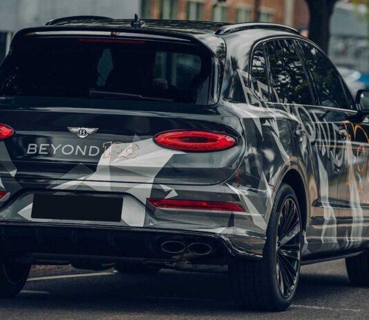 2021 Bentley Bentayga spied