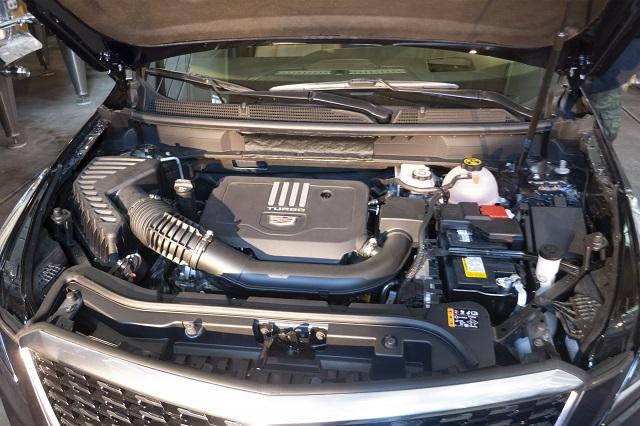 2021 Cadillac XT6 new engine
