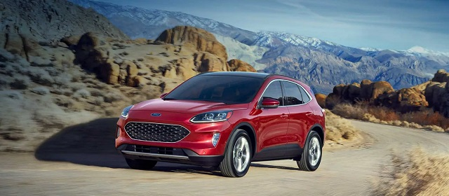 2021 Ford Escape ST release date