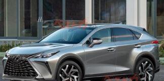 2022 Lexus NX Spy Shots