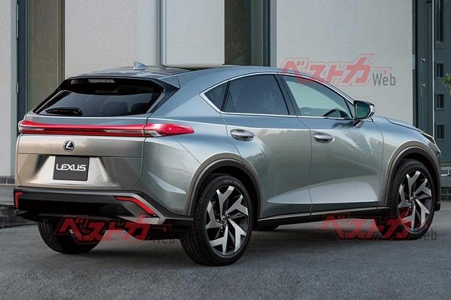 2022 Lexus NX spy photos