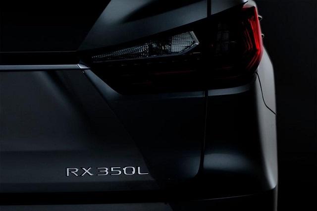 2022 Lexus RX 350 seven seater