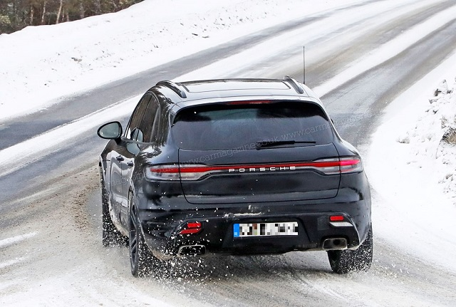 2022 Porsche Macan SPY PHOTOS