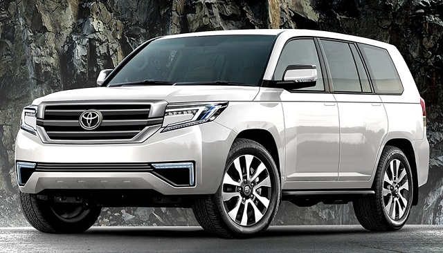 2022 toyota Land Cruiser render