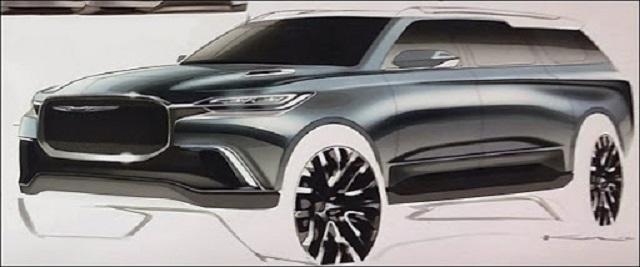 2021 Chrysler Aspen luxury SUV