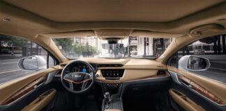2022 Cadillac XT5 interior