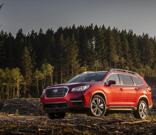 2022 Subaru Ascent exterior changes