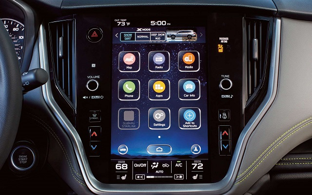 2022 Subaru Forester starlink infotainment