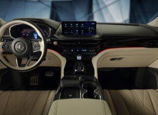 2022 Acura MDX type S interior