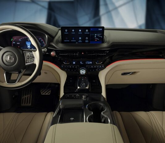 2022 Acura MDX type S interior