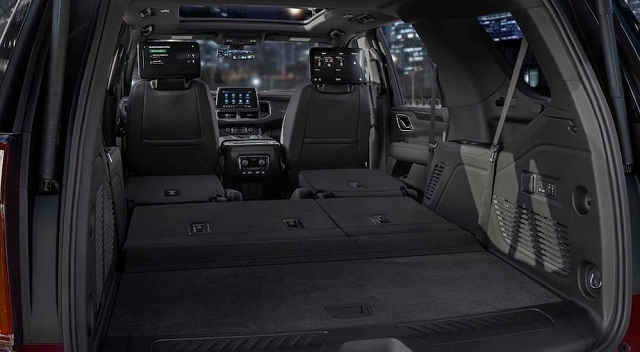 2022 Chevy Tahoe cargo space