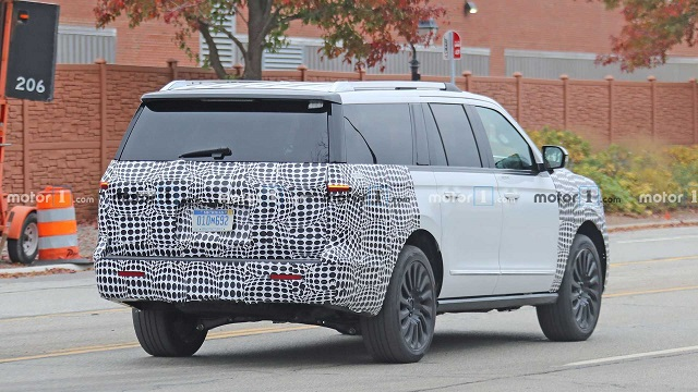 2022 Lincoln Navigator facelift