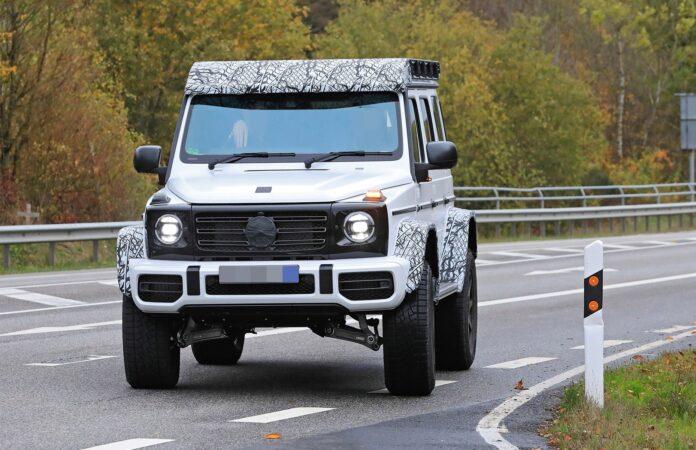 2022 Mercedes G-Wagon 4x4 squared