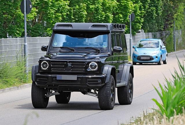 2022 Mercedes G-Wagon prototype