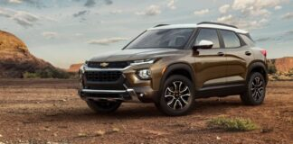 2022 Chevrolet Blazer changes