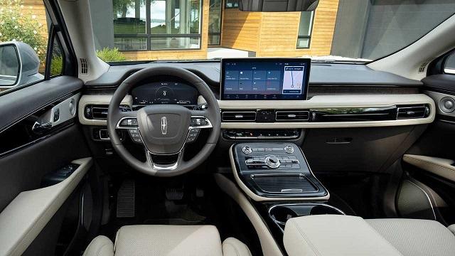 2022 Lincoln Nautilus black label interior