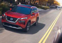 2022 Nissan Rogue colors