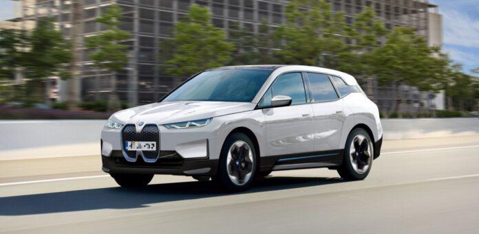 2022 BMW iX5 concept
