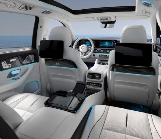 2022 Mercedes GLS interior