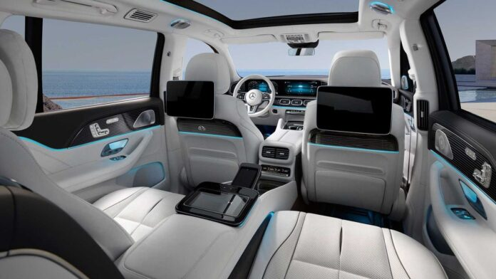 2022 Mercedes GLS interior