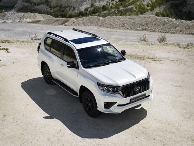2022 Toyota Land Cruiser Prado facelift