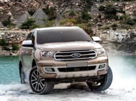 new 2022 Ford Everest