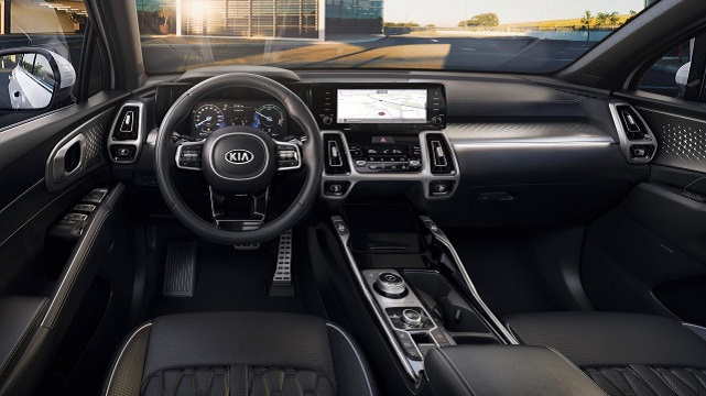 2022 KIA Sorento Hybrid interior