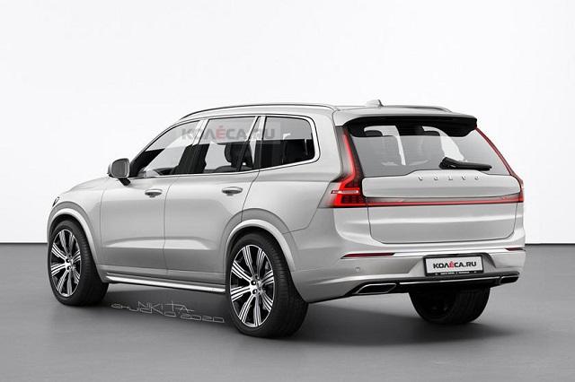 2022 Volvo XC90 facelift