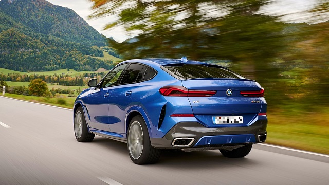 2022 BMW X6 release date