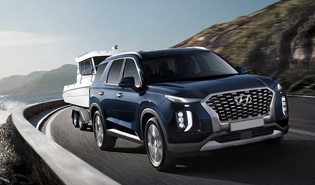 2022 Hyundai Palisade towing capacity