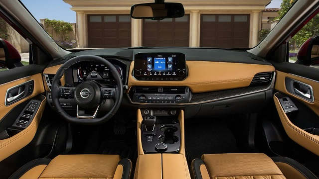 2022 Nissan Rogue Hybrid interior