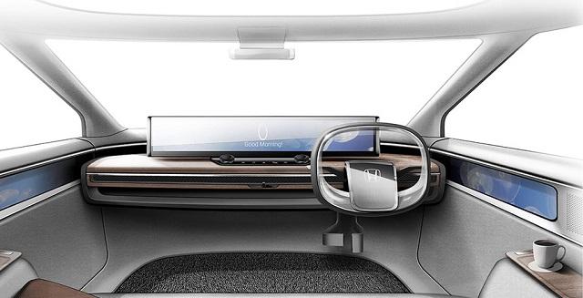 2022 Honda Element Electric interior