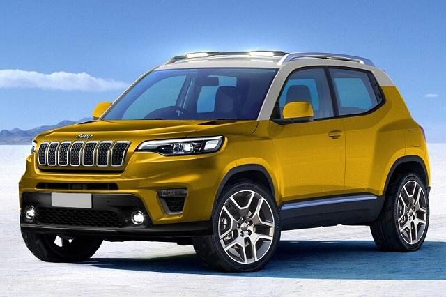 2022 Jeep Baby SUV render