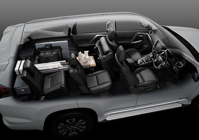 2022 Mitsubishi Pajero Sport interior