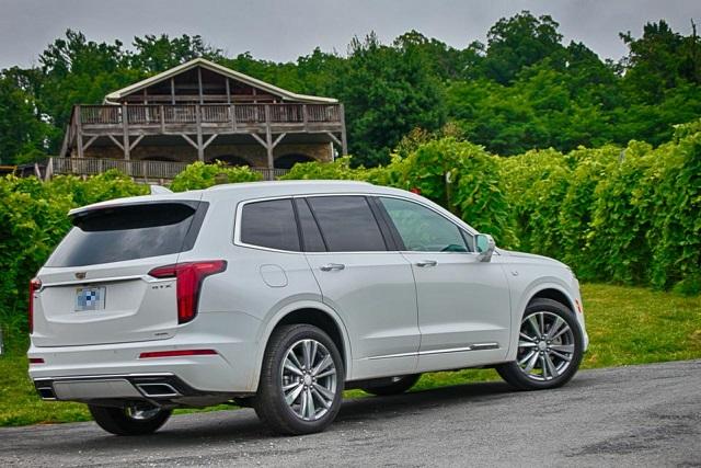 2022 Cadillac XT6 changes