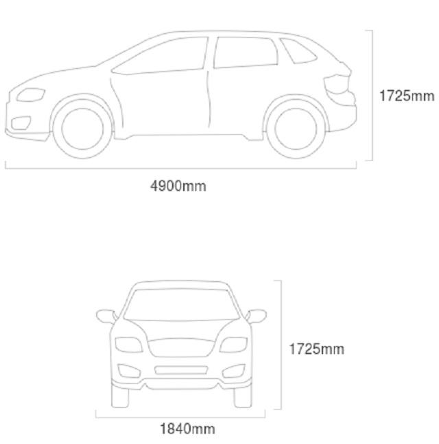 2022 Mazda CX-7 dimensions