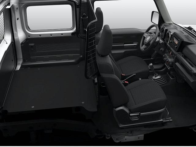 2022 Suzuki Jimny interior