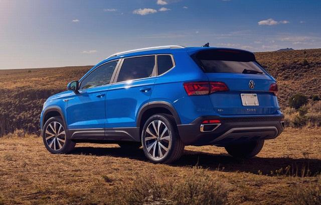 2022 VW Taos colors