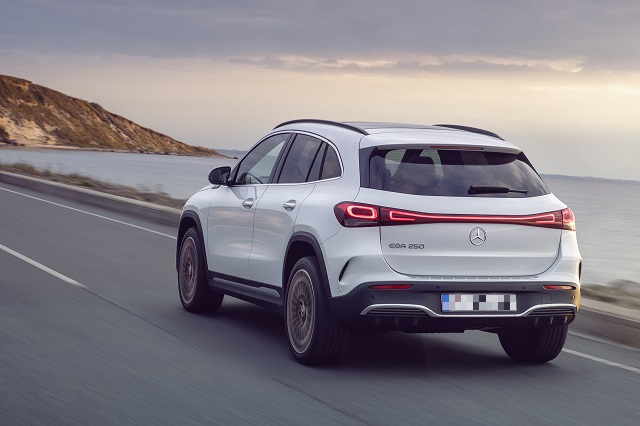 2022 Mercedes-Benz EQA range