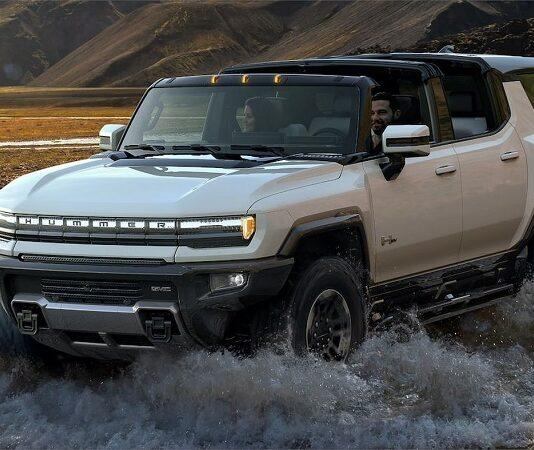 2023 GMC Hummer SUV PRICE