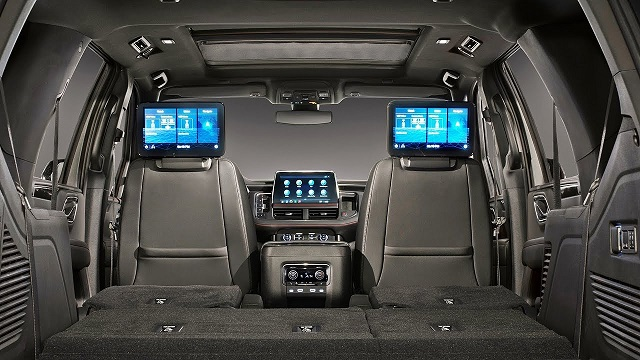 2023 Chevy Tahoe high country interior