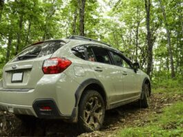 2023 Subaru Crosstrek off road