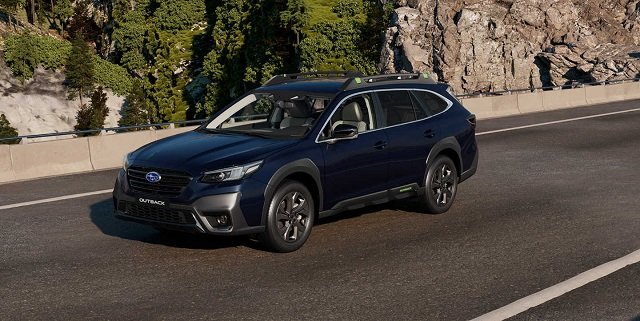 2023 Subaru Outback changes