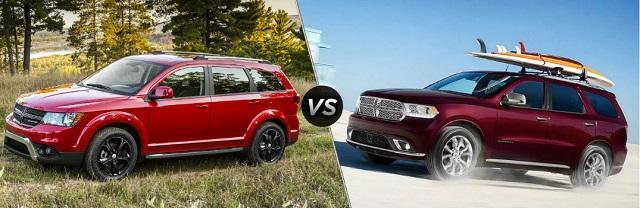 2023 Dodge Journey vs durango