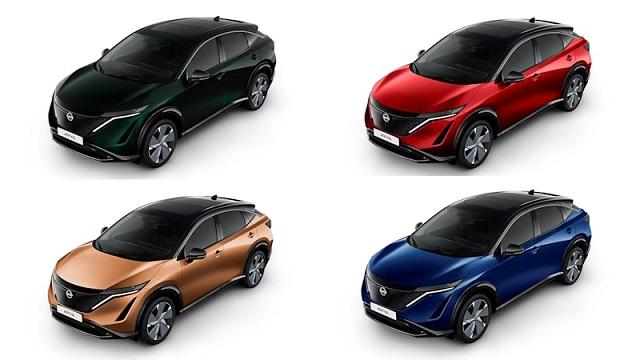 2023 Nissan Rogue colors